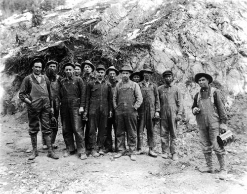 coal miners in California